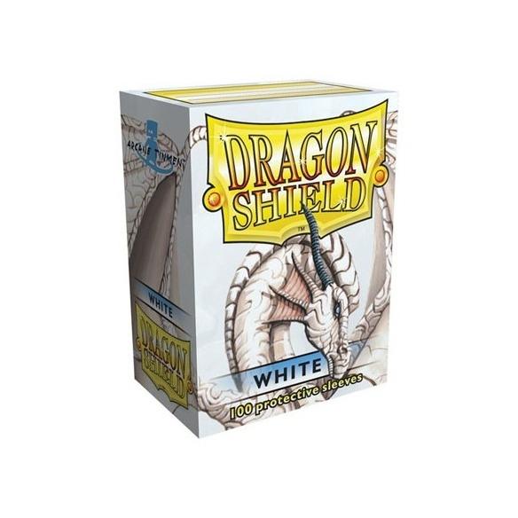 Dragon Shield - Classic White - Standard (100 bustine) Bustine Protettive