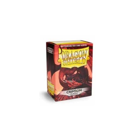 Dragon Shield - Classic Crimson - Standard (100 bustine) Bustine Protettive