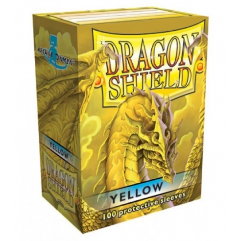 Dragon Shield - Classic Yellow - Standard (100 bustine) Bustine Protettive