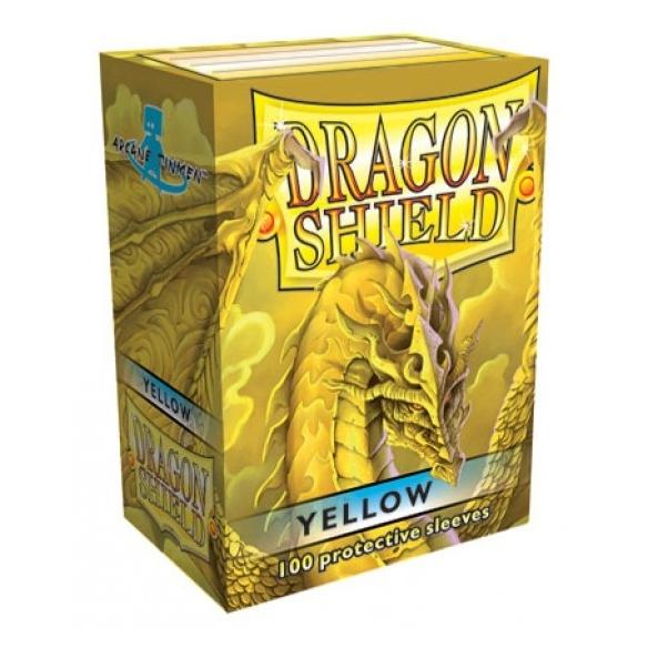 Dragon Shield - Classic Yellow - Standard (100 bustine) Bustine Protettive