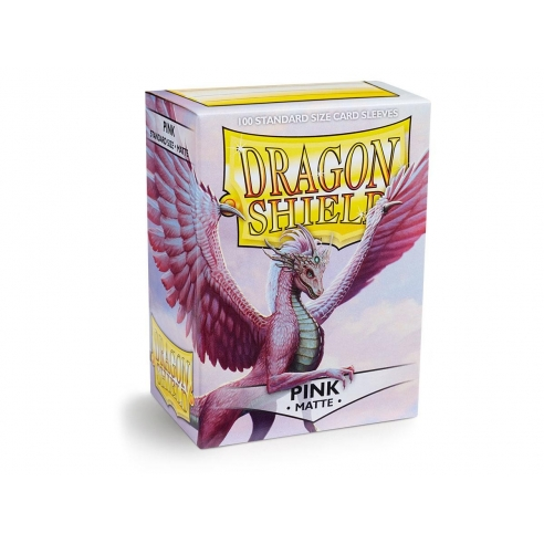 Dragon Shield - Matte Pink - Standard (100 bustine) Bustine Protettive