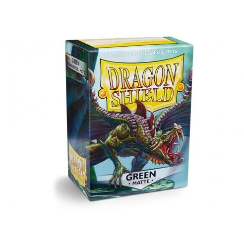 Dragon Shield - Matte Green - Standard (100 bustine) Bustine Protettive
