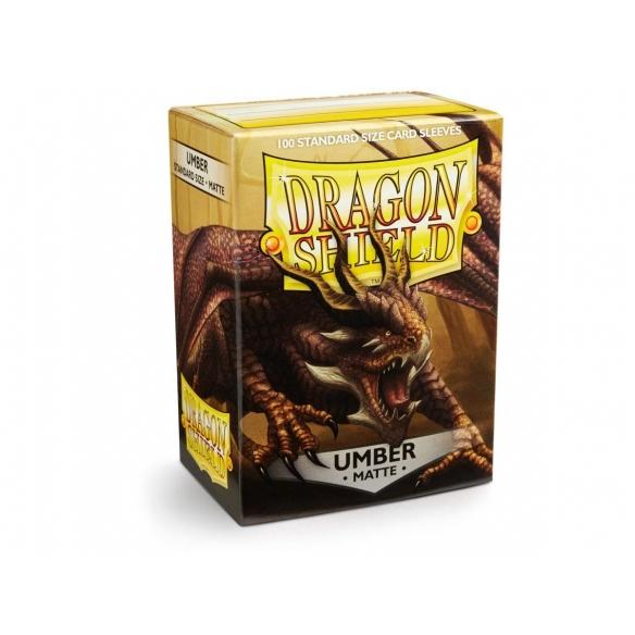 Dragon Shield - Matte Umber - Standard (100 bustine) Bustine Protettive
