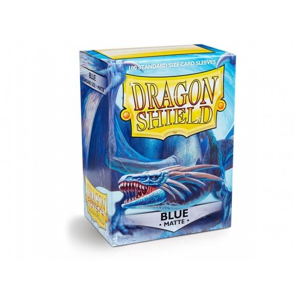 Dragon Shield - Matte Blue - Standard (100 bustine) Bustine Protettive