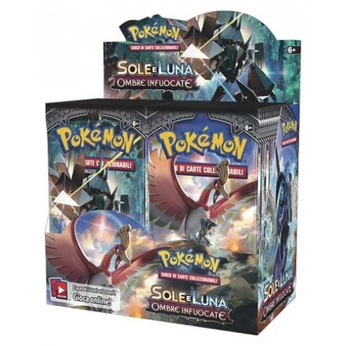 Pokemon - Sole E Luna Ombre Infuocate - Display 36 Buste (it) Box di Espansione