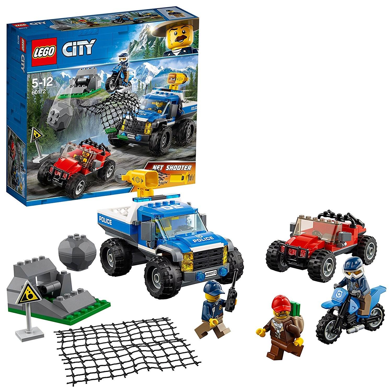 Lego City 60172 - Police - Duello Fuori Strada