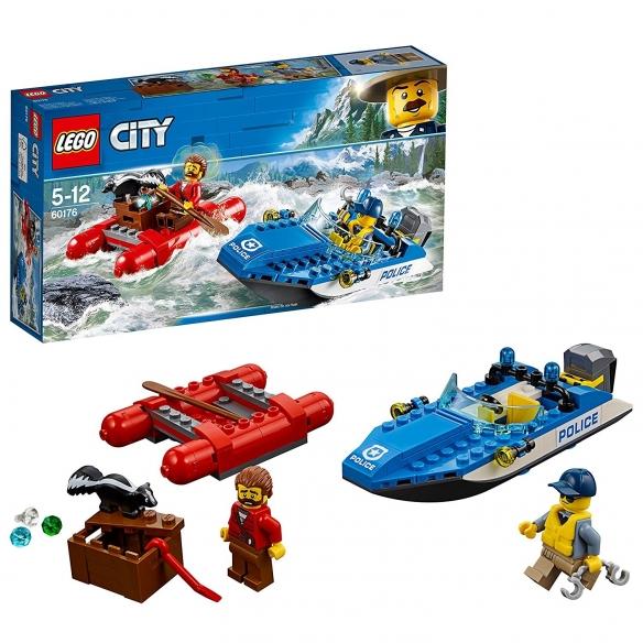 Lego City 60176 - Police - Fuga sul Fiume LEGO 18,99€