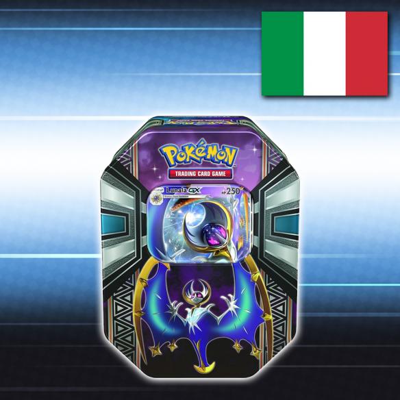 Pokémon Tin da collezione Leggende di Alola: Lunala GX - Italiano Fantàsia 29,90€
