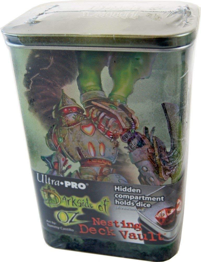 Nesting Deck Vault Ultra PRO Magic DARKSIDE OF OZ TIN MAN Box Porta Mazzo
