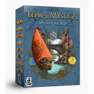 Terra Mystica - Mercanti Del Mare (Espansione) Giochi per Esperti