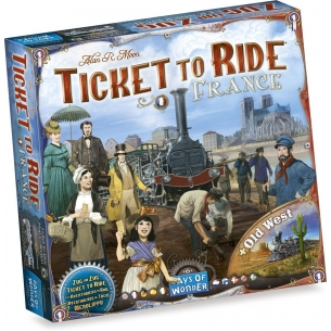 Ticket To Ride - France + Old West (Espansione) Grandi Classici