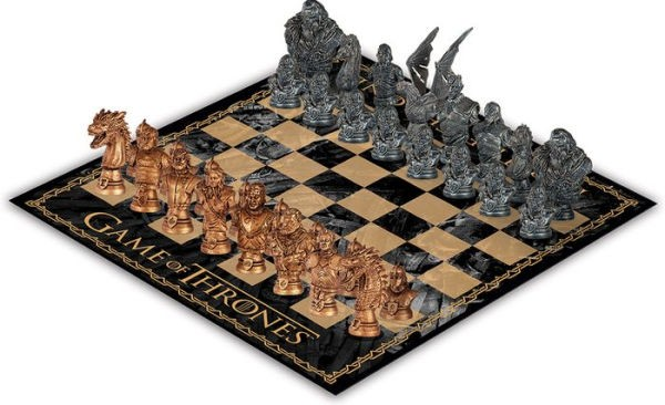 Game of Thrones Chess Collector's Set info
