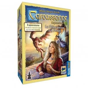 Carcassonne - La Principessa E Il Drago (Espansione) Grandi Classici