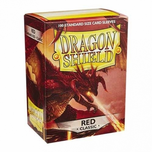 Dragon Shield - Classic Red - Standard (100 bustine) Bustine Protettive