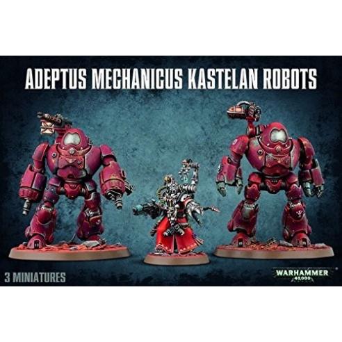 Adeptus Titanicus - Kastelan Robots Adeptus Mechanicus
