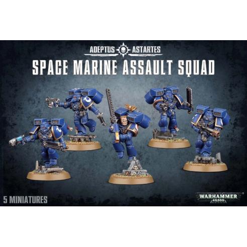 Space Marines - Assault Squad Space Marines