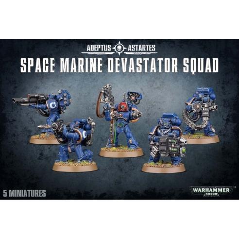 Space Marines - Devastator Squad Space Marines