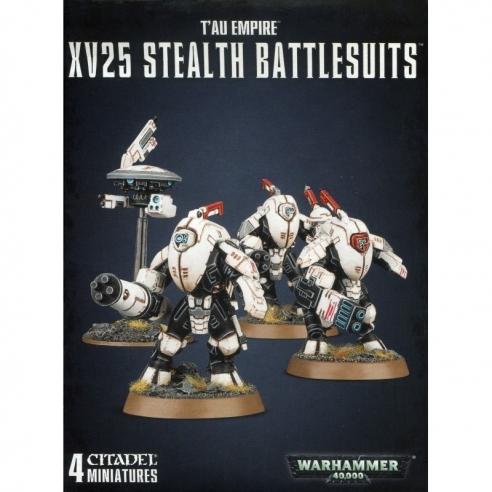 T'au Empire - XV25 Stealth Battlesuits T'au Empire