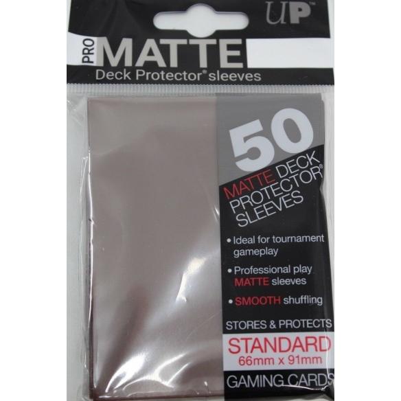 Ultra Pro - Matte Brown - Standard (50 bustine) Bustine Protettive