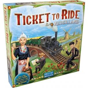 Ticket to Ride - Nederland (Espansione) Grandi Classici
