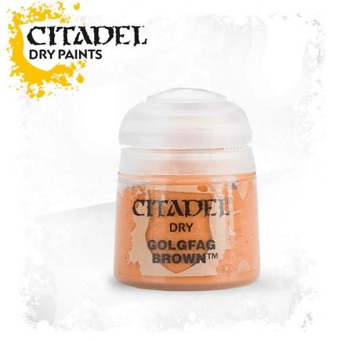 Citadel Dry - Golgfag Brown Citadel Dry