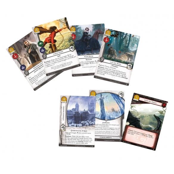 Il Trono Di Spade Lcg - Lupi Del Nord (Espansione) Giochi di Carte