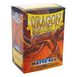 Dragon Shield - Matte Red - 100 bustine protettive  - Dragon Shield 7,90 €