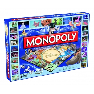 WINNING MOVIES - MONOPOLY DISNEY - ITALIANO  - Winning Moves 34,90 €