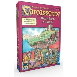 Carcassonne - Bazar Ponti e Castelli (Espansione) Grandi Classici