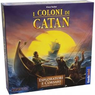 Catan - Esploratori e Corsari (Espansione) Grandi Classici
