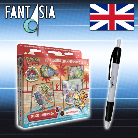 Mazzo Pokèmon World Championships 2017 - Infinite Force  - Fantàsia 14,90 €