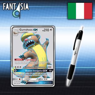 Gumshoos GX - Carta Pokèmon ITA - Sole e Luna - 145/149 + Penna Fantàsia  - Fantàsia 14,90€