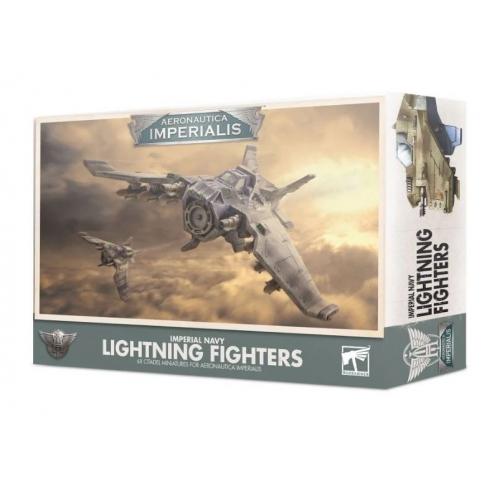 Aeronautica Imperialis - Imperial Navy Lightning Fighters Astra Militarum