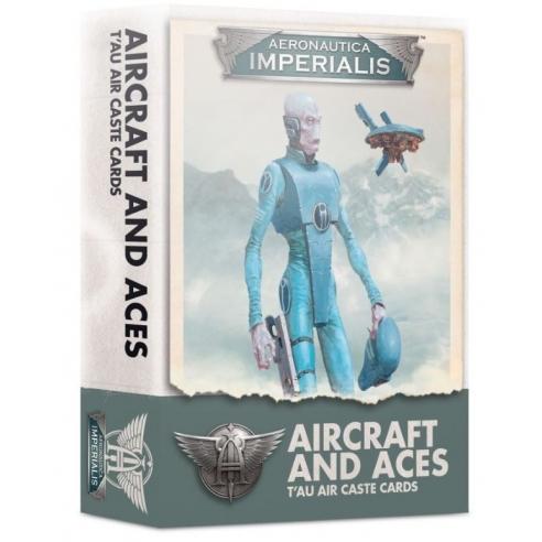 Aeronautica Imperialis - Aircraft and Aces T'au Air Caste Cards (ENG) Casta dell'Aria T'au