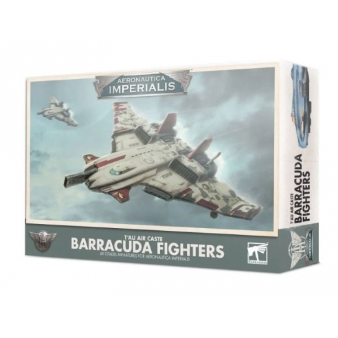 Aeronautica Imperialis - T'au Air Caste Barracuda Fighters Casta dell'Aria T'au
