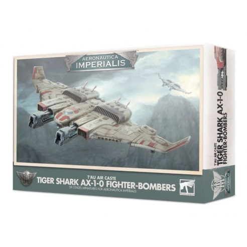 Aeronautica Imperialis - T'au Air Tiger Shark AX 1-0 Fighter-Bombers Casta dell'Aria T'au