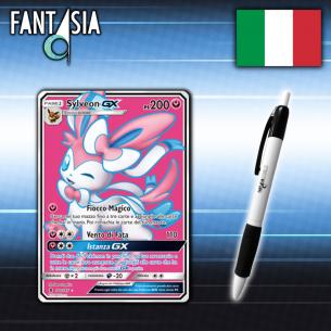 Sylveon GX - Carta Pokèmon ITA - Guardiani Nascenti - 140/145 + Penna Fantàsia Fantàsia 19,90€