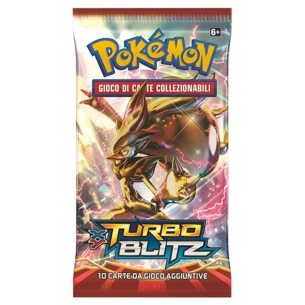 XY TURBO BLITZ - BUSTA 10 CARTE (IT)  - Pokèmon 4,50 €