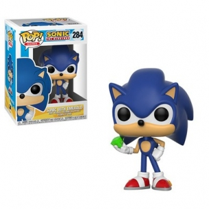 Funko Pop 284 - Sonic with Emerald - Sonic the Hedgehog Fantàsia 12,90 €