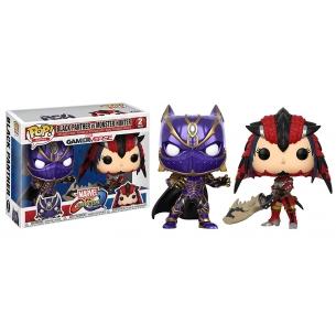 Funko Pop 2pack - Black Panther vs Monster Hunter - Marvel vs Capcom Funko 25,00€