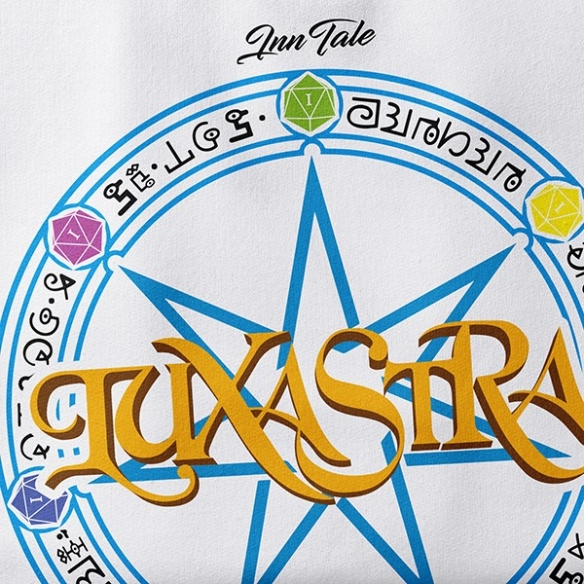 T-shirt Logo Luxastra - Bianca InnTale