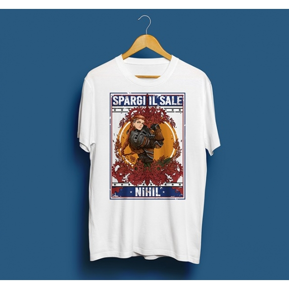 T-shirt Spargi il Sale Luxastra - Bianca InnTale