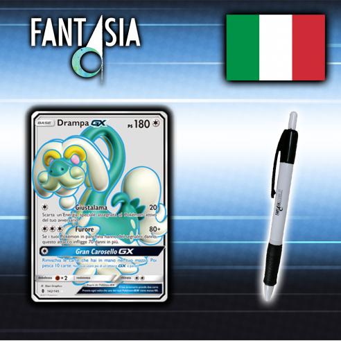 Drampa GX - Carta Pokémon ITA - Guardiani Nascenti - 142/145 + Penna Fantàsia Altri prodotti