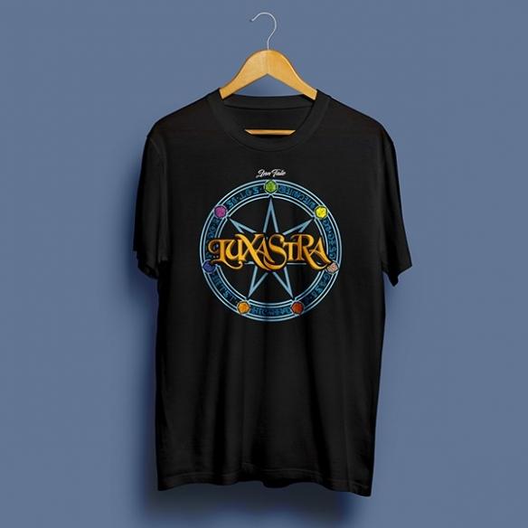 T-shirt Logo Luxastra - Nera InnTale