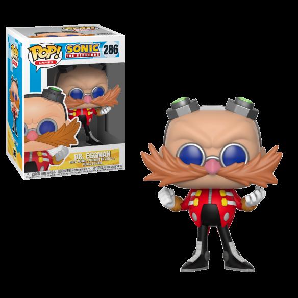 Funko Pop 286 - Dr. Eggman - Sonic the Hedgehog Funko