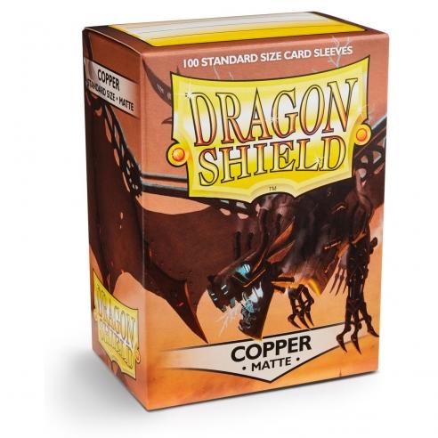 Dragon Shield - Matte Copper - Standard (100 bustine) Bustine Protettive