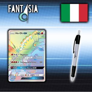 Ho-Oh GX - Carta Pokémon ITA - SM80 + Penna Fantàsia  - Fantàsia 29,90€