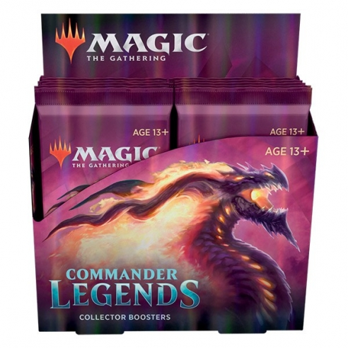 Commander Legends - Collector Booster Display 12 Buste (ENG) Box di Espansione
