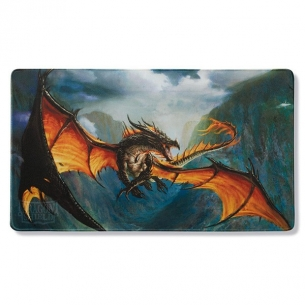 Dragon Shield - Playmat & Life Counter - Amina Obsidian Queen Playmat