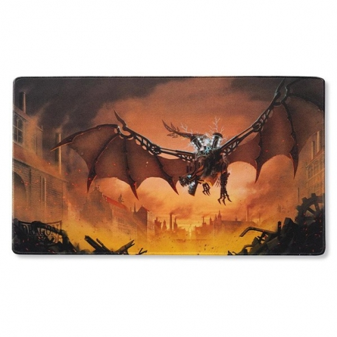 Dragon Shield - Playmat & Life Counter - Copper Draco Primus, Unhinged Playmat